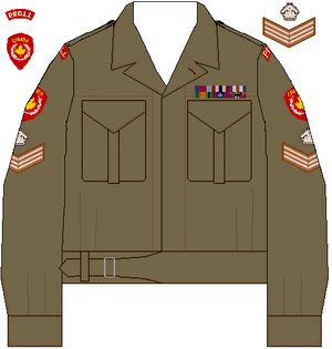 War Shoulder Garments